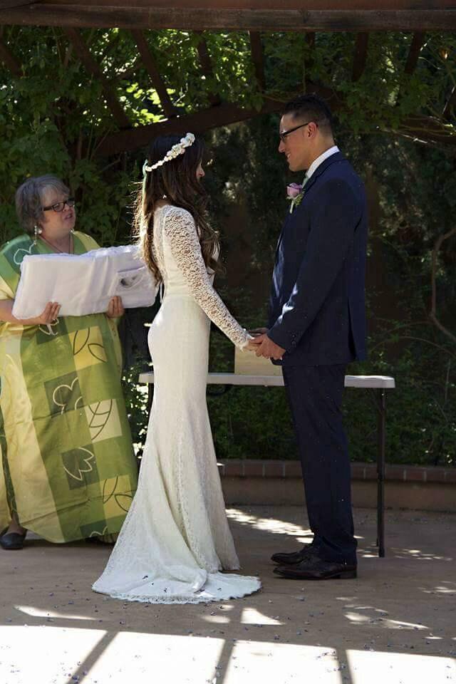 Lace Wedding Gown Illusion Neckline Wedding Dress Lace