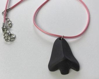 Nose® kind black porcelain necklace