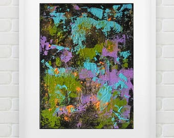 "Pamela Rys - Matter Painting 31 : 16"" x 12"" - 40 x 30 cm - original abstract painting - abstraction by Pamela Rys"