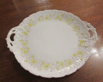 ANTIQUE PLATE with Handles