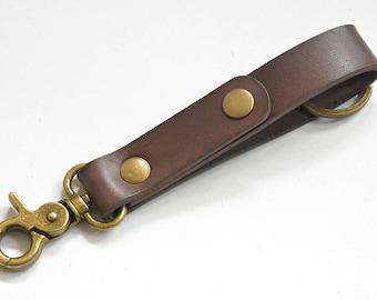 Key chains for women, key organizer, mens keychain, handmade leather keychain personalized, gift ideas, LT592-blue