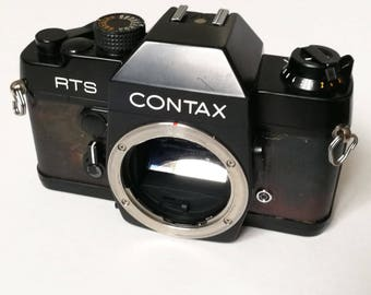 Contax RTS with New Light Seals. Ready-To-Use Vintage 1980s SLR Camera Body with Yashica/Contax Lens Mount