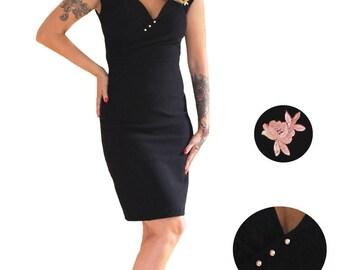 Thelma black dress