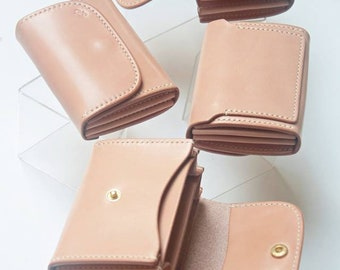 Leather wallet mini 02