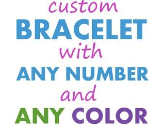 Math Jewelry - Custom Mathart Sciart Math Bracelet - Math Teacher Graduation Christmas Gift