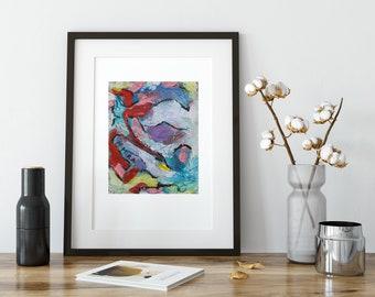 art prints // mid century modern art set // art print set - set of bright modern photography art prints (5x7, 8.5x11)