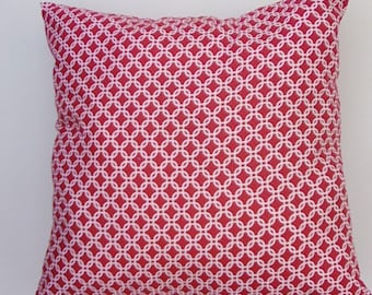 Red Pattern Pillow