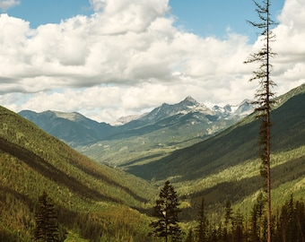 Pacific Northwest Photography Fine Art Print Mountains Fine Art Print Canada Rocky Mountains Epic Scenery Mountain View