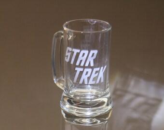 Star trek inspired Original Star Trek Engraved Mug