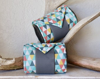 "Accent Polo Wraps ""Triangles"" 