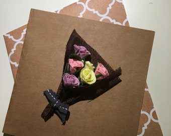 Handmade air dry clay cards and crafts