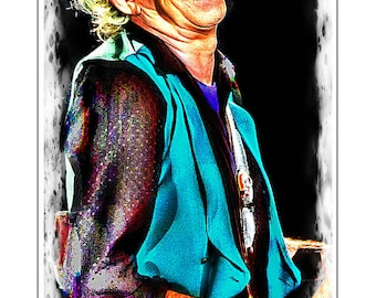 Keith Richards Painting 7