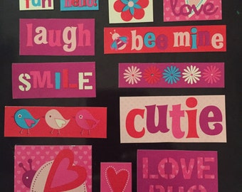Valentine's Magnet Set