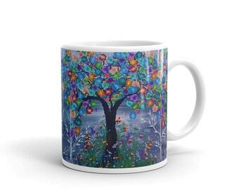 Color Tree Mug