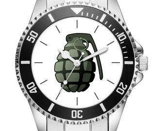Soldier Gift Bundeswehr article hand grenade watch 6161