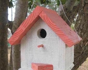 birdhouse outdoor, country garden birdhouse, rustic birdhouse, primitive birdhouse, outdoor birdhouse