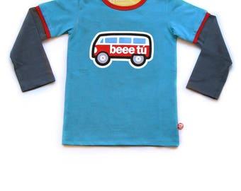 BEEETÚ T-shirt VW bus met raampjes