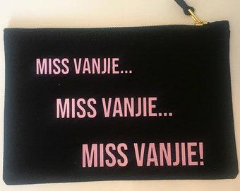 Miss Vanjie Ru Pauls Drag Race Quote Make Up Bag