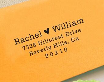 CUSTOM ADDRESS STAMP, personalized pre inked address stamp, pre inked custom address stamp, return address stamp with proof - Stamp b5-32