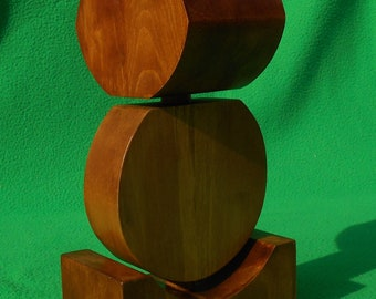 Support de casque audio en bois