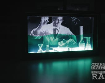 Re-Animator LED Light box / Night Light / Gearbox Designs