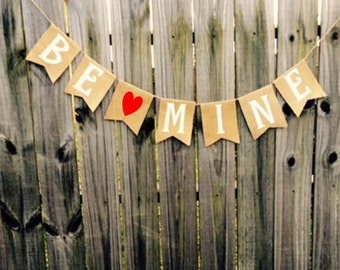 Valentines Day 'Be Mine' Banner