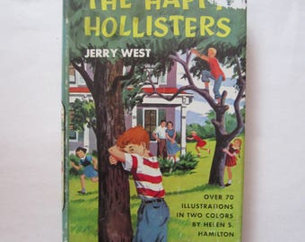 The Happy Hollisters First Book in the Series, Vintage Happy Hollisters, Happy Hollisters, Jerry West, Happy Hollisters Mystery