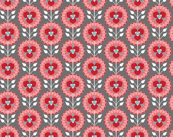 Desert Medallion Gray- Desert Bloom Collection - Riley Blake Designs - C5353-GRAY (sold by the 1/2 yard)