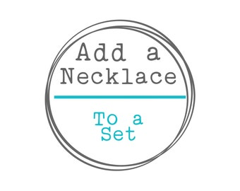 Add a Necklace
