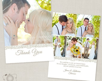 wedding thank you card templates free