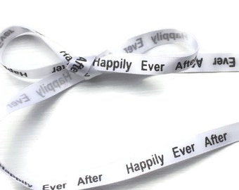 "White & Black Sparkle Shoelaces. Happily Ever After 3/8"" Flat White Ribbon Shoelaces Sparkle Writing. Brides Shoes, Bride Converse, Weddings"