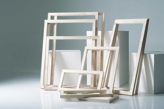 Art Supplies Stretcher Frames - Pure Pine Wood Assembled Stretcher ...