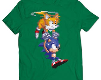 Sonic the Hedgehog Tails Rescue T-shirt