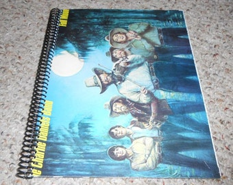 """The Charlie Daniels Band """"Full Moon"""" Original Record Album Cover Notebook"""