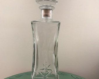 Vintage Glass Decanter