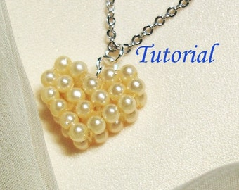 Beading Tutorial - Beaded Heart of Love