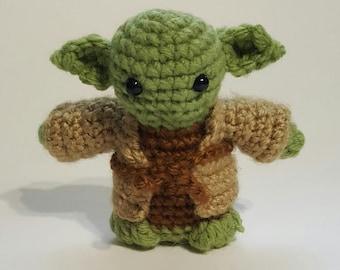 Star Wars Inspired Crocheted Yoda Amigurumi