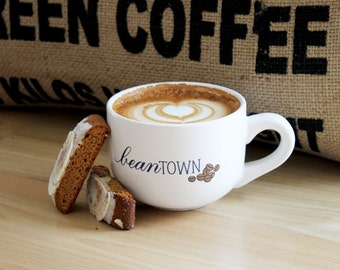 Beantown Latte Mug