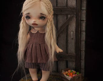 Going on an adventure *by Nika - OOAK art doll bjd*