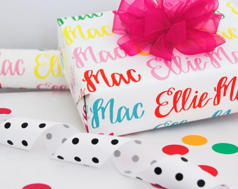 items similar to christmas wrapping paper holiday gift wrap