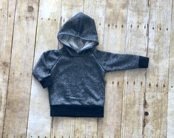 Black sweatshirt, baby sweatshirt, toddler sweatshirt