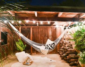 Outdoor Hammock - Montauk Cotton Rope (2+ People) | Free Shipping