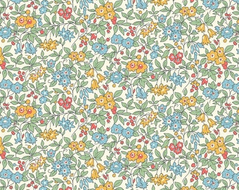 Liberty of London - Cottage Garden Collection - Forget Me Not in Blue