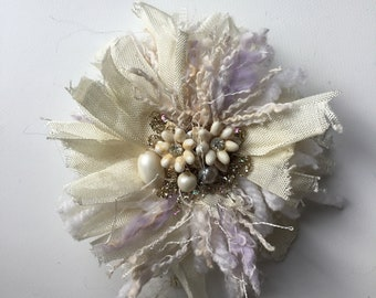 Pom Pom pin brooch scarf shawl pin