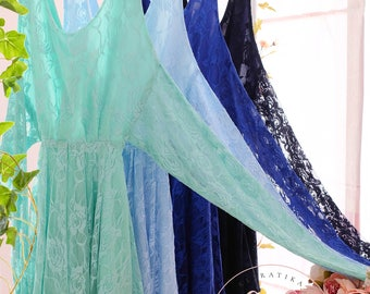 Royal blue prom dress lace bridesmaid dress blue bridesmaid dresses mint green dress blue lace dress navy party dress backless dress