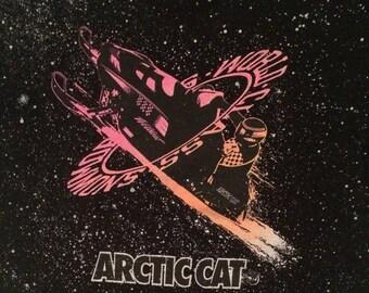 1980s Arctic Cat snowflake tee