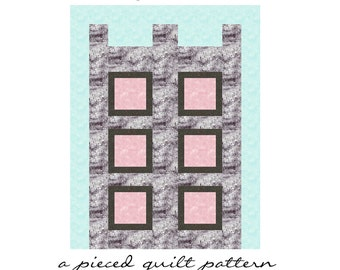 In A Castle quilt pattern