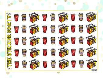 Timbits Tim Hortons Planner Stickers