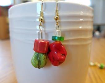 Christmas mix earrings