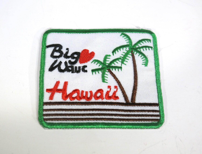 Iron on hawaii applique application